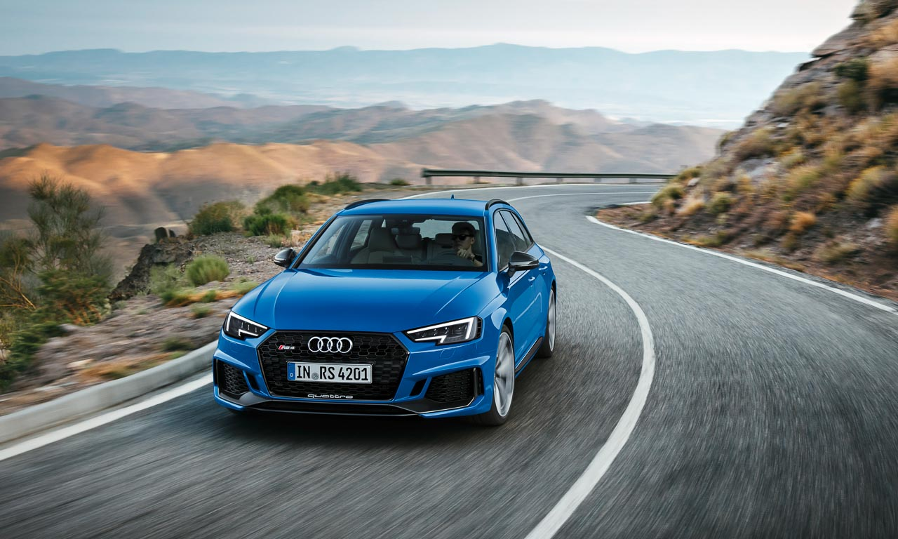Audi RS4 2017 auf der IAA 2017 AUTOmativ.de Benjamin Brodbeck 8 - Hier ist endlich der neue Audi RS4 Avant mit 450 PS - aber ohne V8