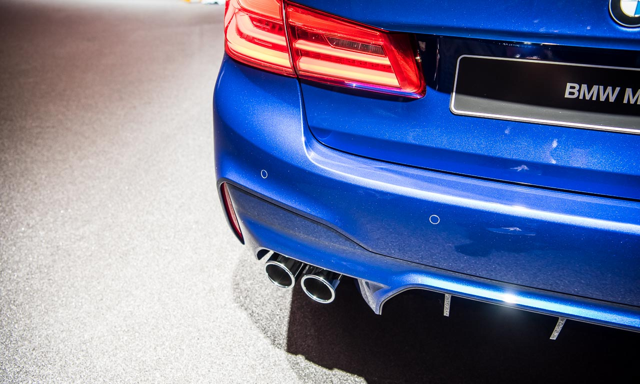 BMW M5 auf der IAA 2017 AUTOmativ.de Benjamin Brodbeck 13 - Der neue BMW M5 bringt noch mehr Bayernpower aus München auf die IAA 2017