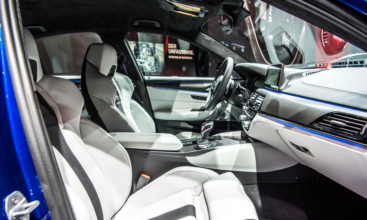 BMW M5 auf der IAA 2017 AUTOmativ.de Benjamin Brodbeck 15 - Der neue BMW M5 bringt noch mehr Bayernpower aus München auf die IAA 2017