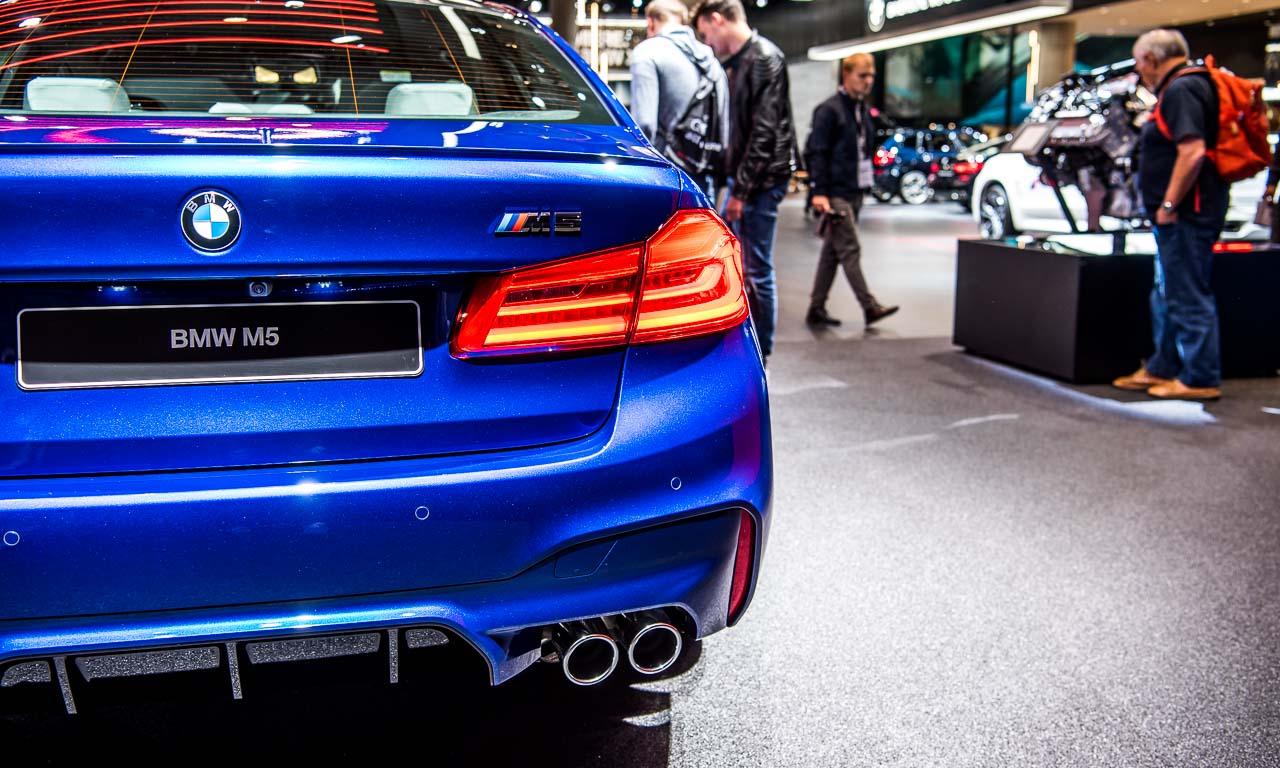BMW M5 auf der IAA 2017 AUTOmativ.de Benjamin Brodbeck 2 - Der neue BMW M5 bringt noch mehr Bayernpower aus München auf die IAA 2017