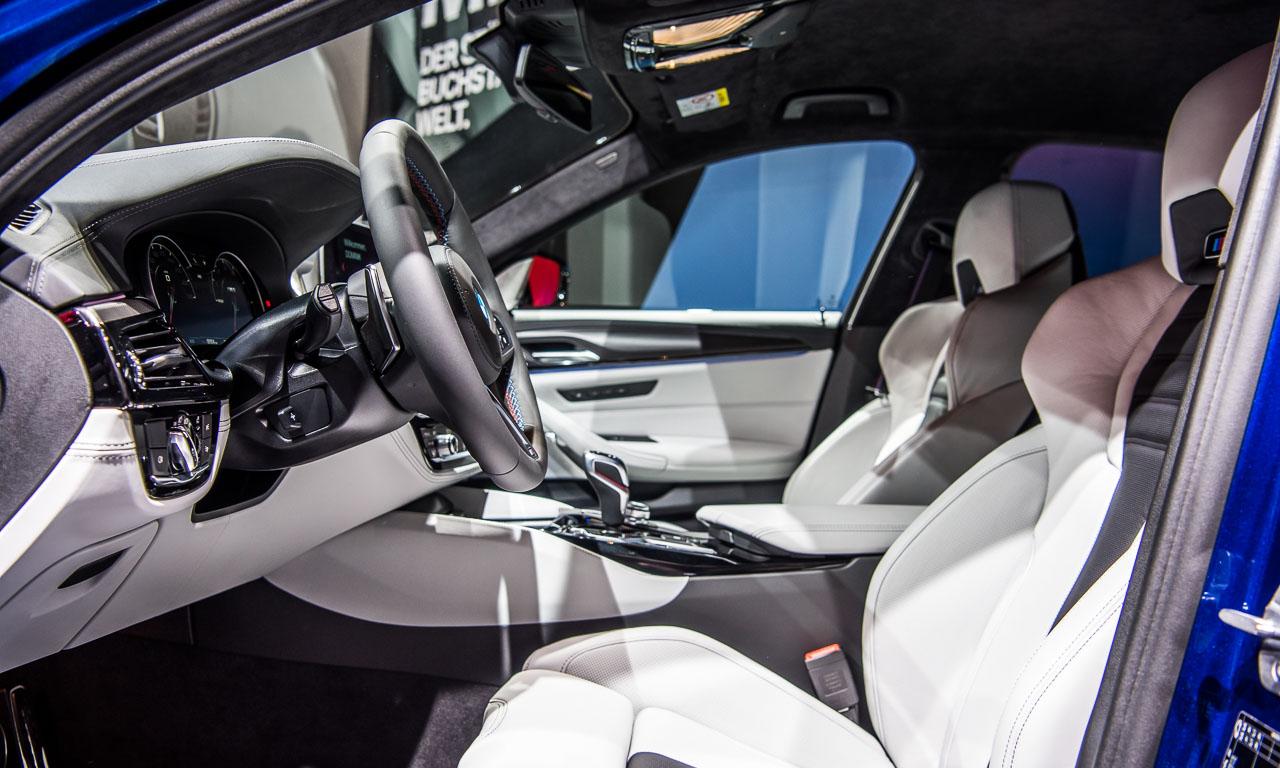 BMW M5 auf der IAA 2017 AUTOmativ.de Benjamin Brodbeck 8 - Der neue BMW M5 bringt noch mehr Bayernpower aus München auf die IAA 2017
