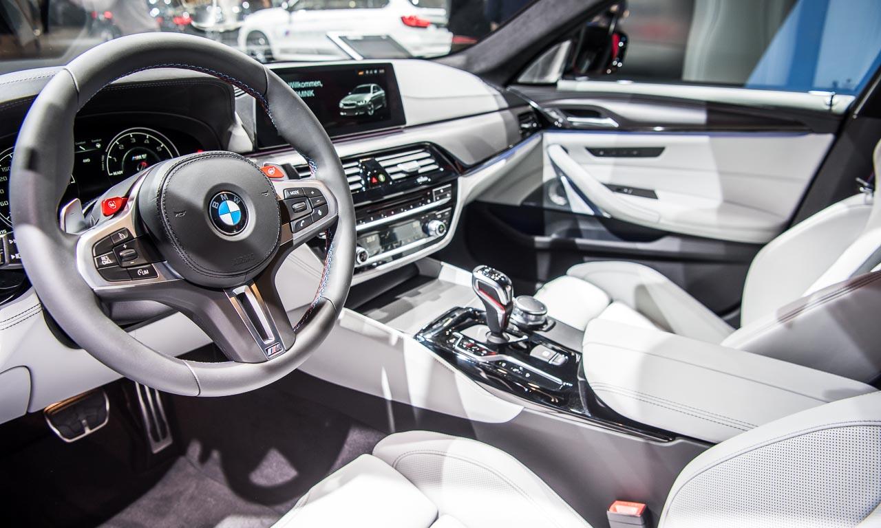 BMW M5 auf der IAA 2017 AUTOmativ.de Benjamin Brodbeck 9 - Der neue BMW M5 bringt noch mehr Bayernpower aus München auf die IAA 2017