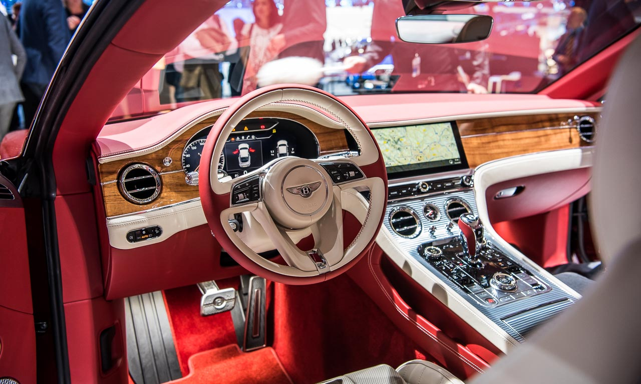 Bentley Continental GT VW Groupnight Volkswagen AUTOmativ.de Benjamin Brodbeck - Bentley Continental GT: Erste Sitzprobe im Luxus-GT - IAA 2017
