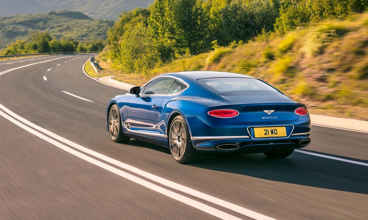 Bentley Continental Neuauflage 2018 IAA 2017 10 - Neuer Bentley Continental GT: Ganz schön viel Panamera im Briten