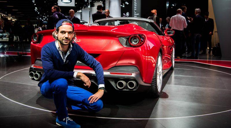 Ferrari Portofino auf der IAA 2017 - erste Sitzprobe