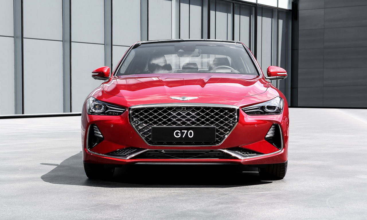 Genesis G70 Hyundai South Korea AUTOmativ.de Mercedes AMG C63 5 - Mit dem Genesis G70 treten die Südkoreaner gegen C43 und Co. an