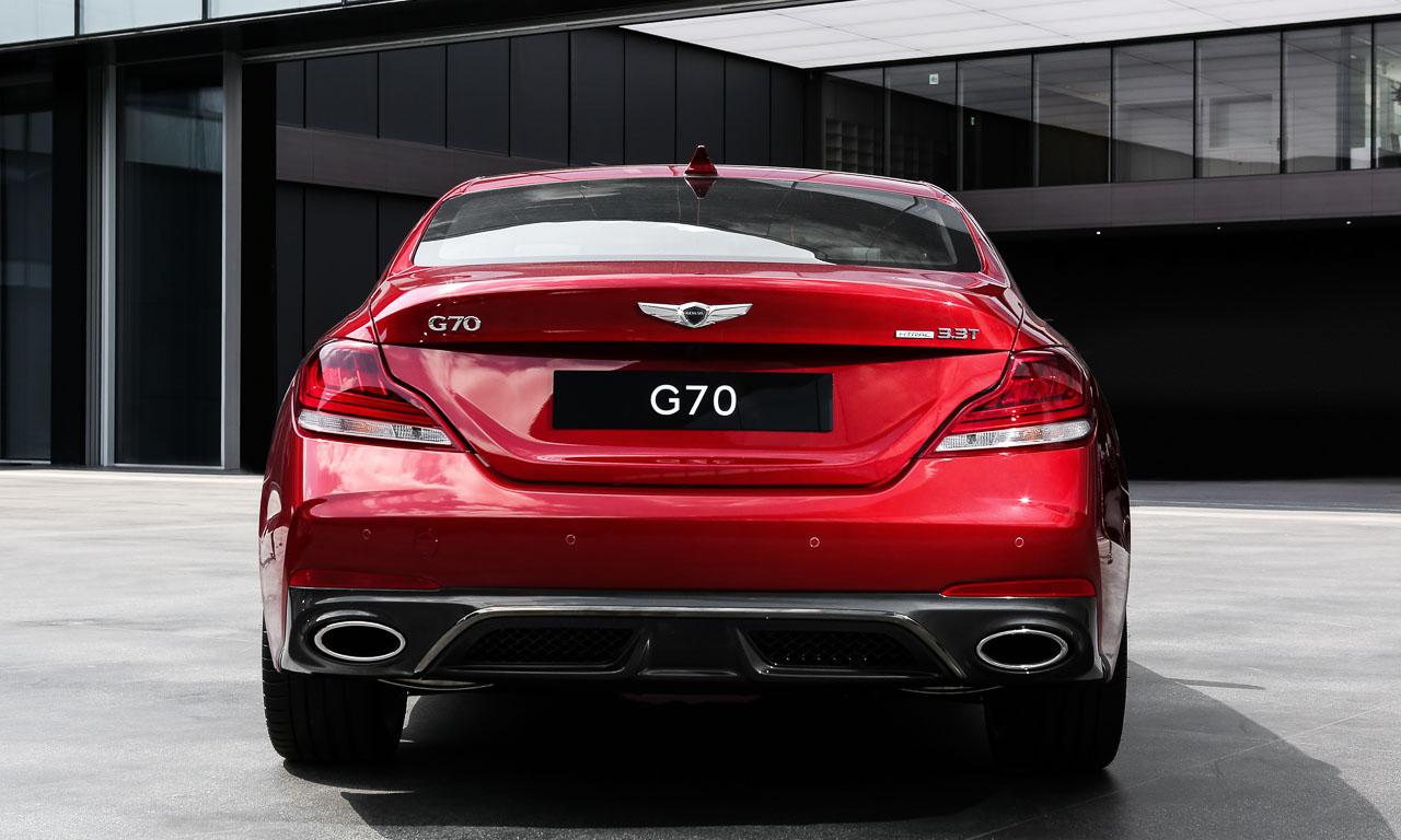 Genesis G70 Hyundai South Korea AUTOmativ.de Mercedes AMG C63 6 - Mit dem Genesis G70 treten die Südkoreaner gegen C43 und Co. an