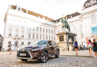 Wiener Zeitlosigkeit trifft auf asiatische Moderne: Mit dem Lexus RX 450h nach Wien