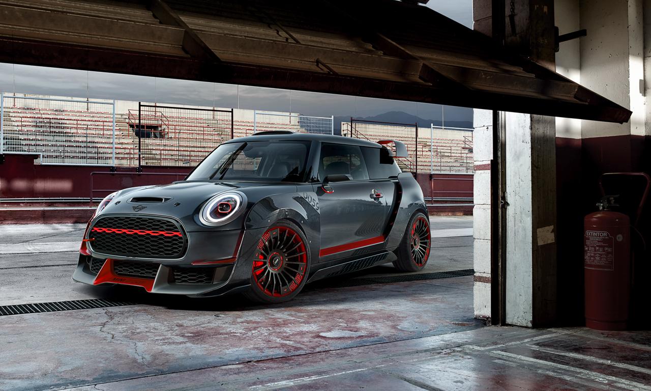 Mini Cooper GP Concept 11 - Mini John Cooper Works GP Concept: Wenn's Euch gefällt wird's gebaut!