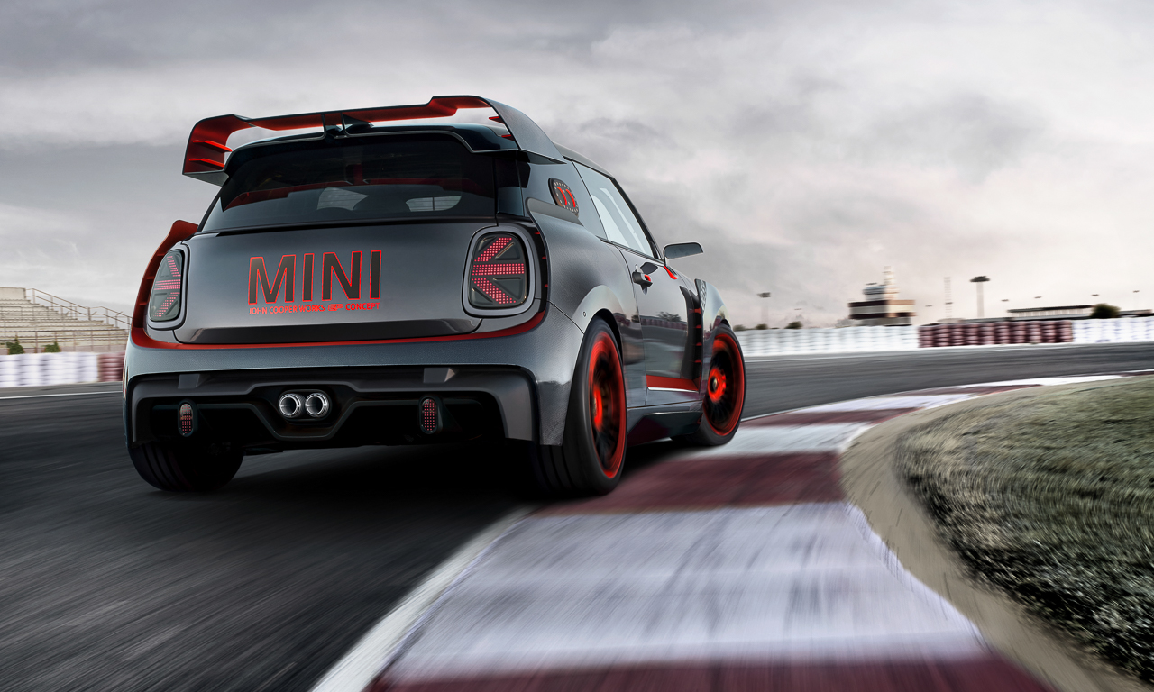 Mini Cooper GP Concept 2 - Mini John Cooper Works GP Concept: Wenn's Euch gefällt wird's gebaut!