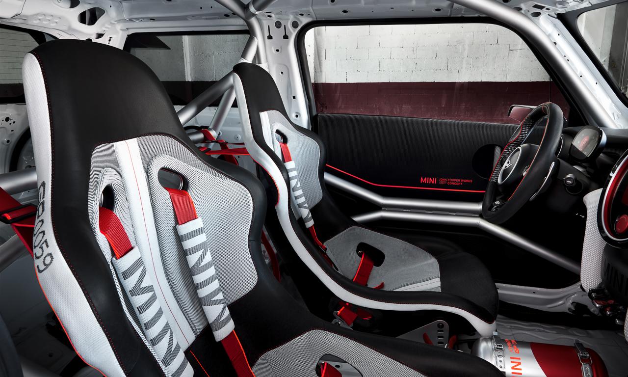 Mini Cooper GP Concept 8 - Mini John Cooper Works GP Concept: Wenn's Euch gefällt wird's gebaut!