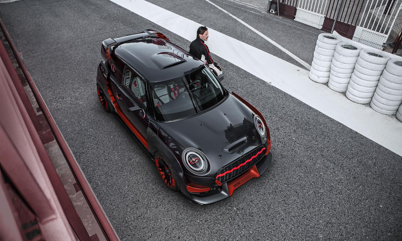 Mini Cooper GP Concept - Mini John Cooper Works GP Concept: Wenn's Euch gefällt wird's gebaut!
