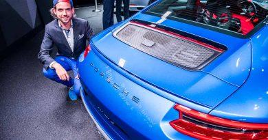 Der neue Porsche 911 GT3 mit Touring Paket auf der IAA 2017