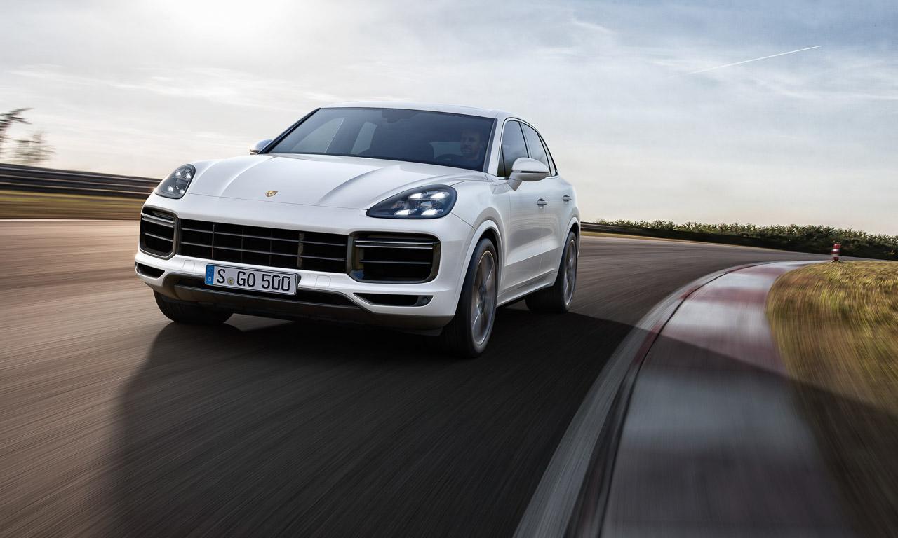 Porsche Cayenne Heck Review AUTOmativ.de Benjamin Brodbeck 2 1 - So langweilig die Front, so atemberaubend das Heck: Neuer Porsche Cayenne - IAA 2017