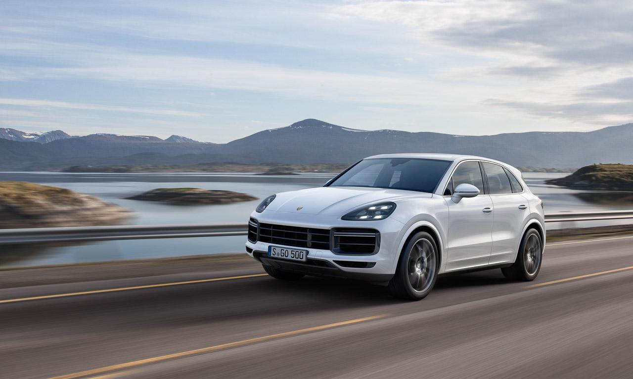 Porsche Cayenne Heck Review AUTOmativ.de Benjamin Brodbeck 2 - So langweilig die Front, so atemberaubend das Heck: Neuer Porsche Cayenne - IAA 2017