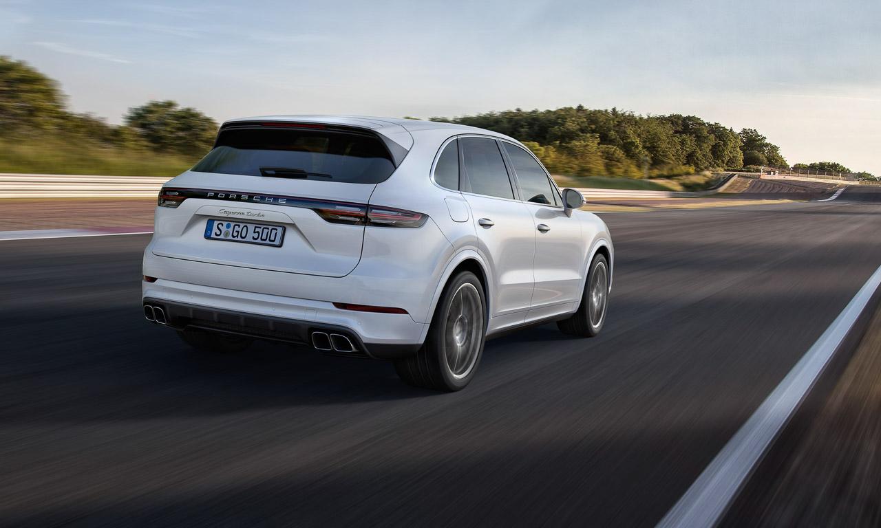 Porsche Cayenne Heck Review AUTOmativ.de Benjamin Brodbeck 3 - So langweilig die Front, so atemberaubend das Heck: Neuer Porsche Cayenne - IAA 2017