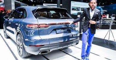 So langweilig die Front, so atemberaubend das Heck: Neuer Porsche Cayenne – IAA 2017