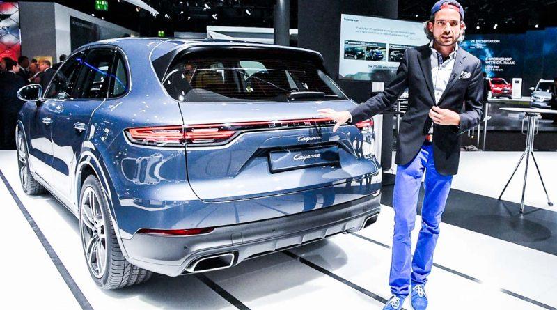 Porsche Cayenne Heck Review AUTOmativ.de Benjamin Brodbeck