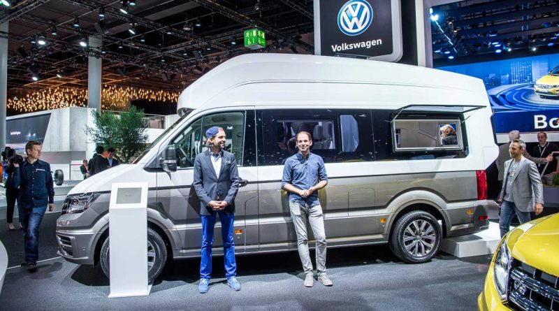 VW California XXL Studie IAA 2017-3