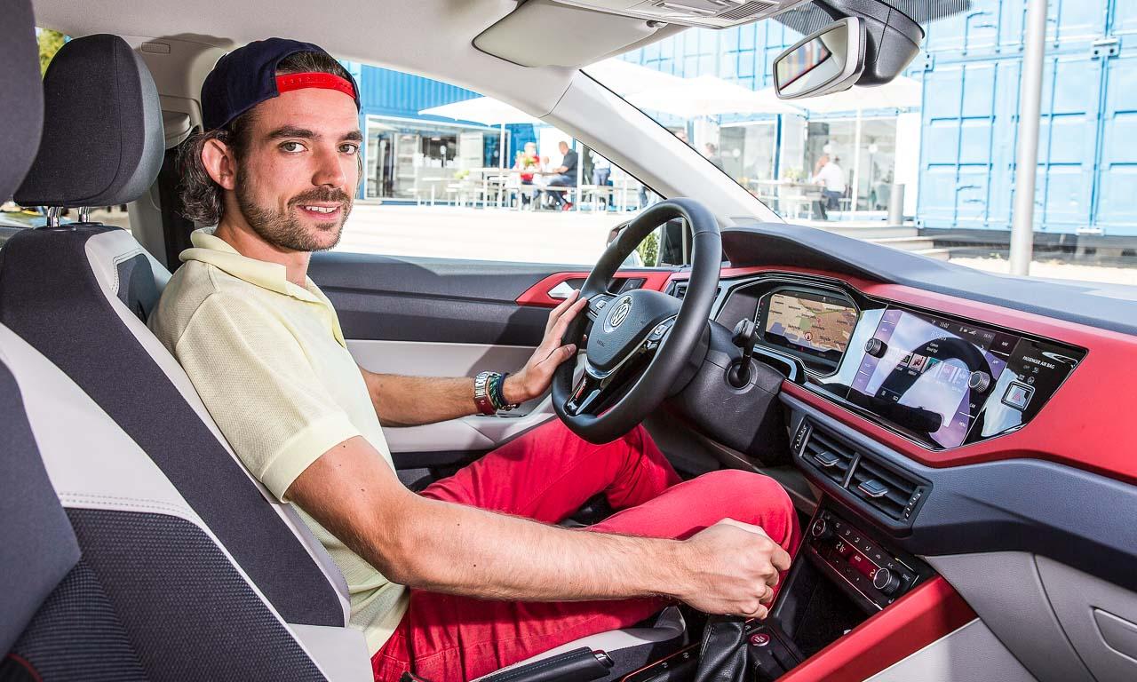VW Volkswagen Polo 2018 Beats Highline Test Fahrbericht Review AUTOmativ.de Benjamin Brodbeck Rot 39 - Neuer VW Polo Beats mit 115 PS im Fahrbericht: Hat alles, kann alles