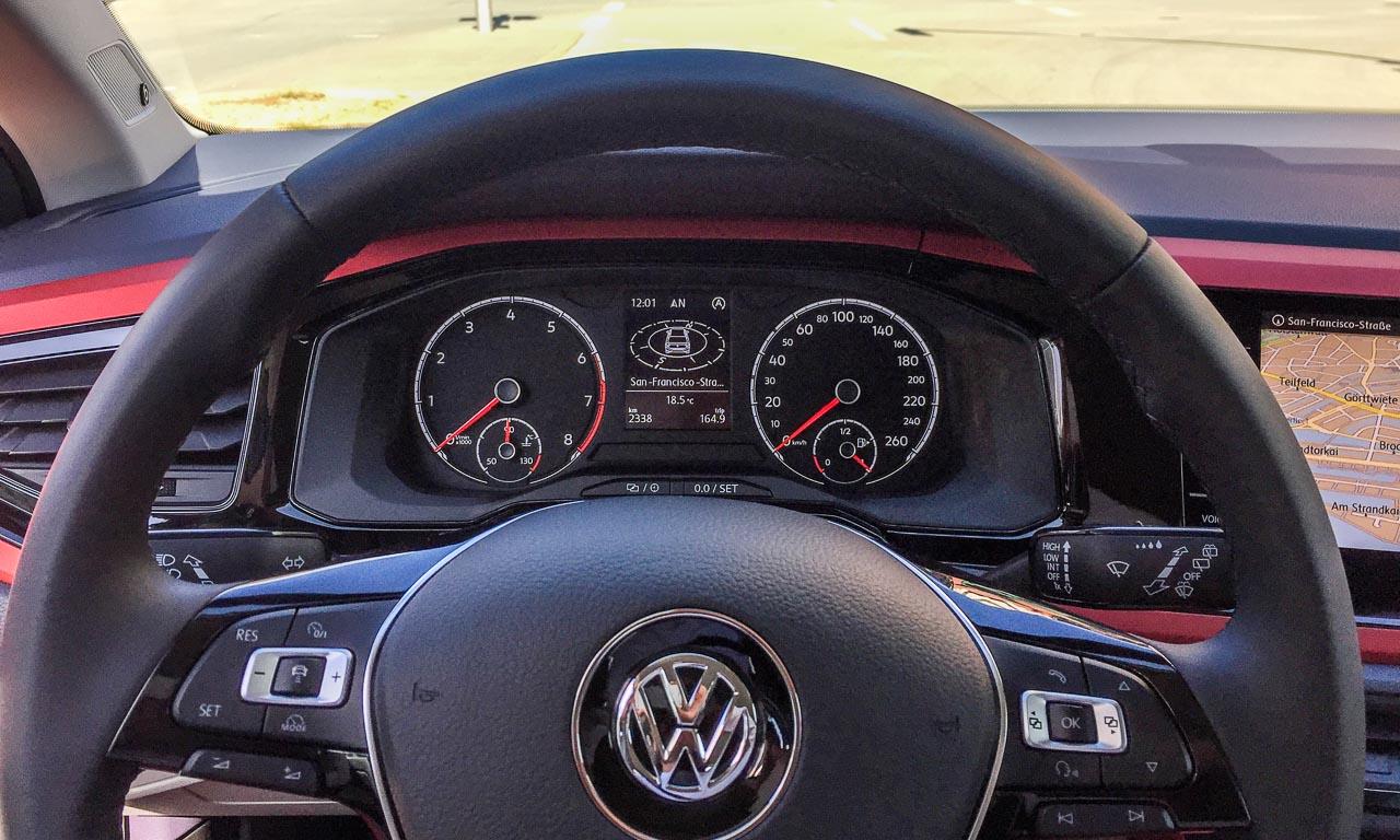 VW Volkswagen Polo 2018 Beats Highline Test Fahrbericht Review AUTOmativ.de Benjamin Brodbeck Whitesilver 1 - VW Polo Beats 1.0 (95 PS) im Test: Heißer Lauttreter mit analogem Tacho #NewPolo