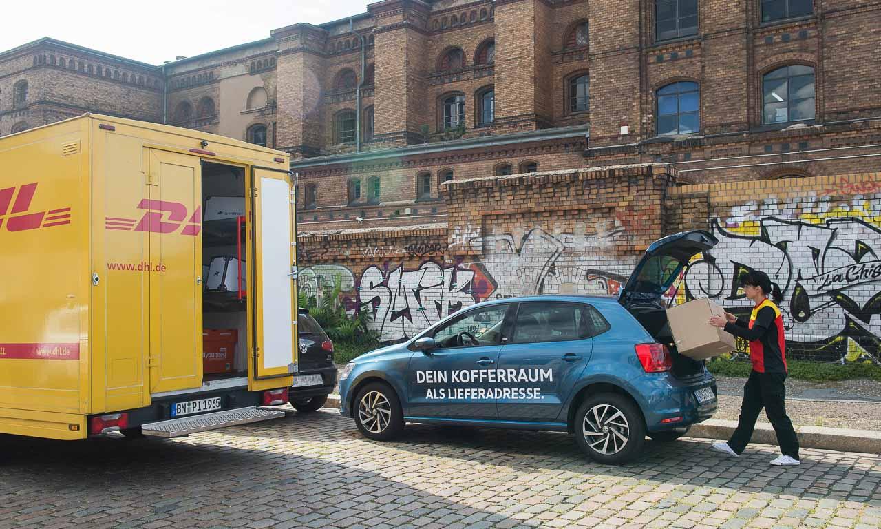 Volkswagen We Juergen Stackmann Pakete ins Auto - Volkswagen We: VW-Vertriebschef Jürgen Stackmann lässt Ihr Paket in Ihren Kofferraum liefern