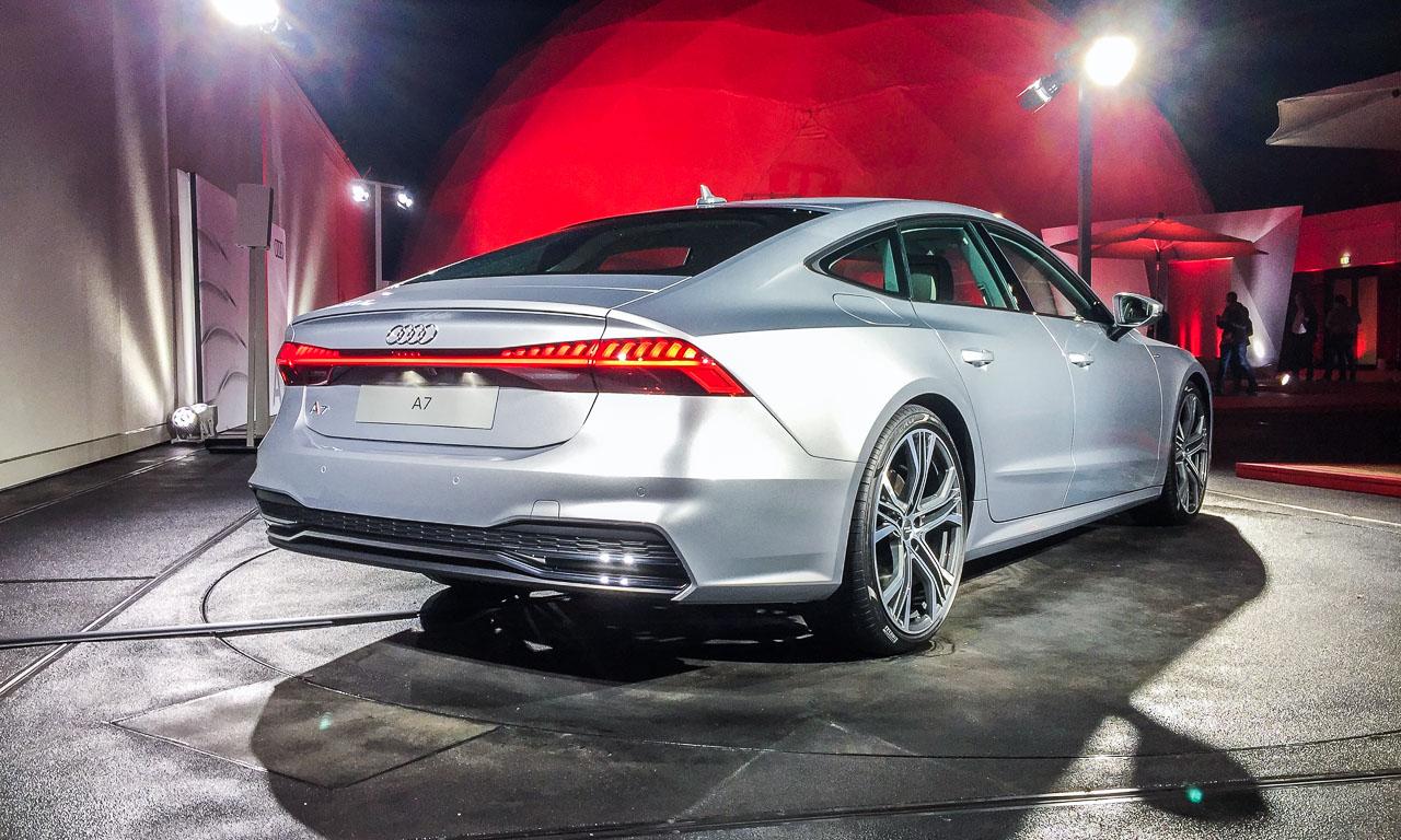 Audi A7 2018 Vorstellung Weltpremiere Sportcoupe Ingolstadt Rupert Stadler Marc Lichte AUTOmativ.de Benjamin Brodbeck 16 - Der neue Audi A7 ist der sexy Sport-A8: Erste Sitzprobe