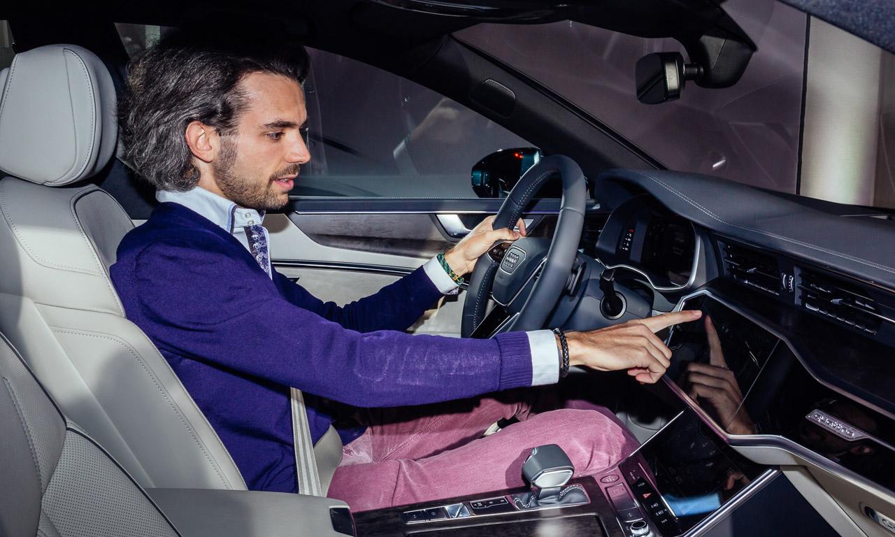 Audi A7 2018 Vorstellung Weltpremiere Sportcoupe Ingolstadt Rupert Stadler Marc Lichte AUTOmativ.de Benjamin Brodbeck Personenbilder - Der neue Audi A7 ist der sexy Sport-A8: Erste Sitzprobe