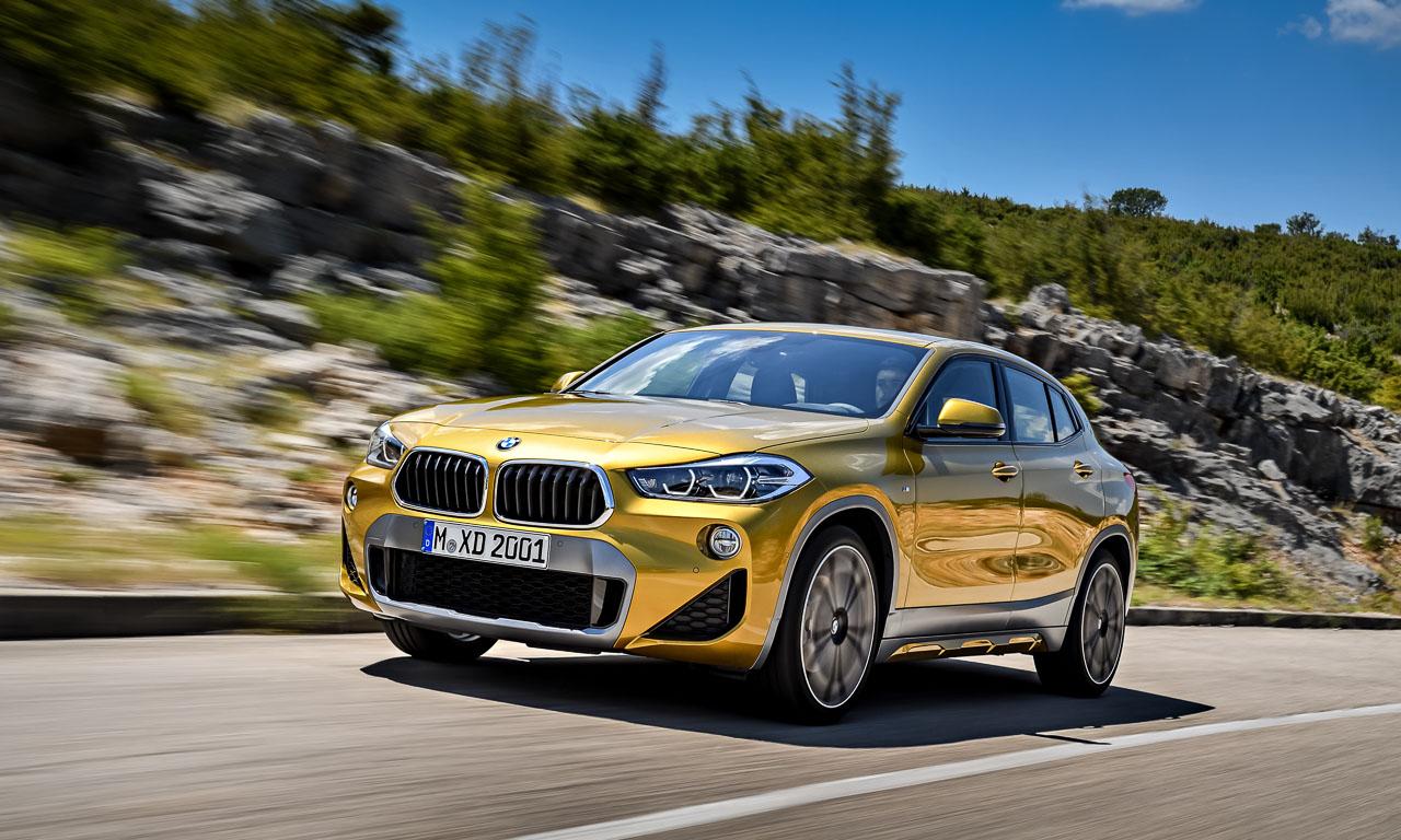 BMW X2 Neuvorstellung T Roc Audi Q2 AUTOmativ.de Benjamin Brodbeck - Neuer BMW X2: Nachmacher!