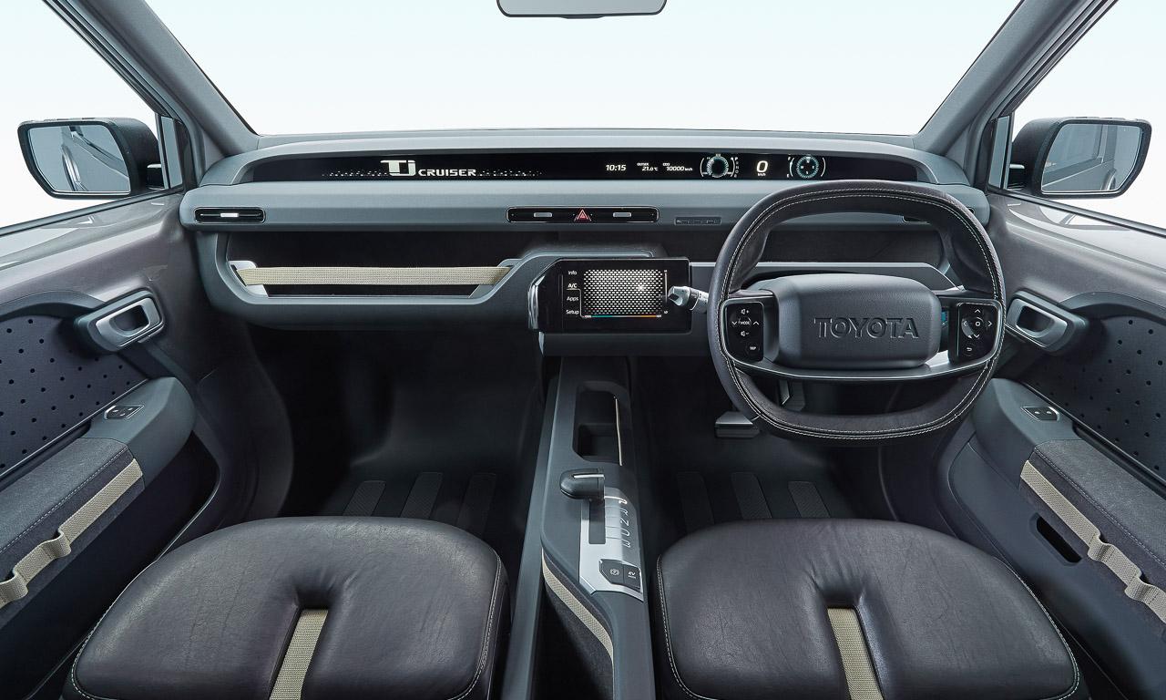 Crossover Konzept Toyota Tj Cruiser Tokyo Motor Show 2017 AUTOmativ.de Benjamin Brodbeck 7 - Toyota Tj Cruiser Konzept mit flexiblem Frachtflugzeug-Innenraum