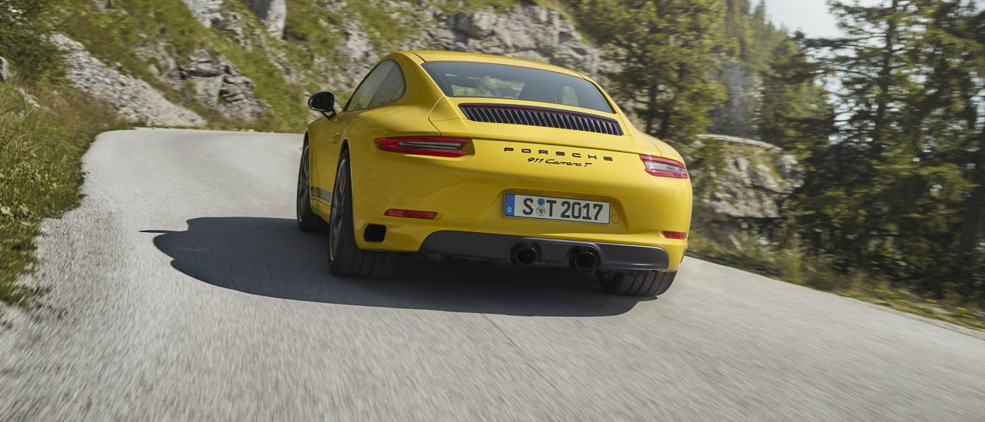Neuer Porsche 911 Carrera T: Einmal Buchstabenroulette, bitte!