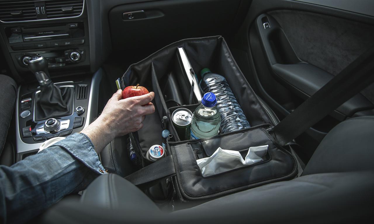 Slotpack der organisierte Beifahrer im Test AUTOmativ.de Benjamin Brodbeck 2 - Praktisches Gadget im Auto: Slotpack sorgt für Ordnung auf dem Beifahrersitz