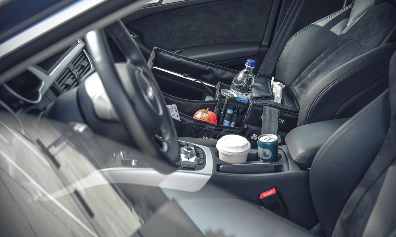 Slotpack der organisierte Beifahrer im Test AUTOmativ.de Benjamin Brodbeck 5 - Praktisches Gadget im Auto: Slotpack sorgt für Ordnung auf dem Beifahrersitz