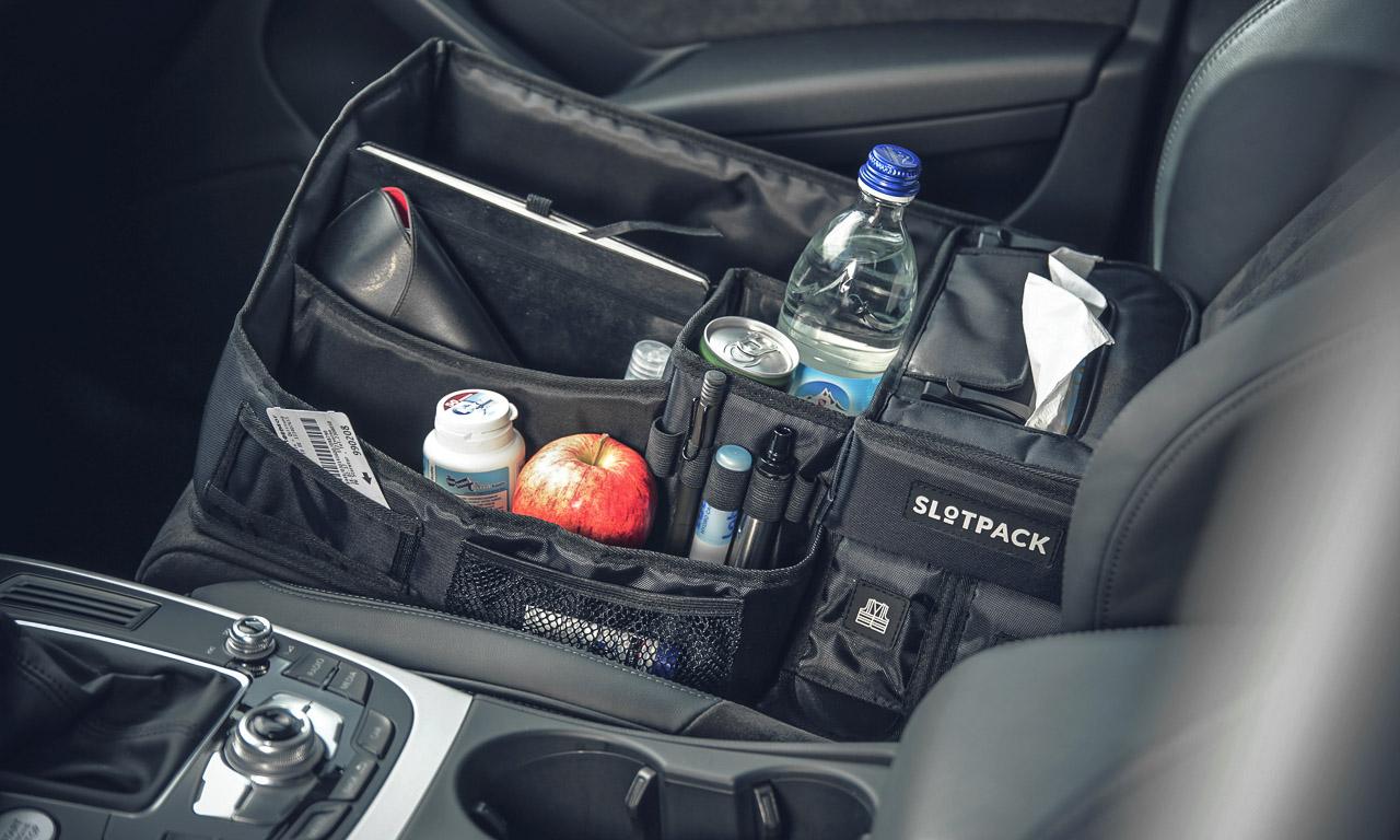 Slotpack der organisierte Beifahrer im Test AUTOmativ.de Benjamin Brodbeck 7 - Praktisches Gadget im Auto: Slotpack sorgt für Ordnung auf dem Beifahrersitz