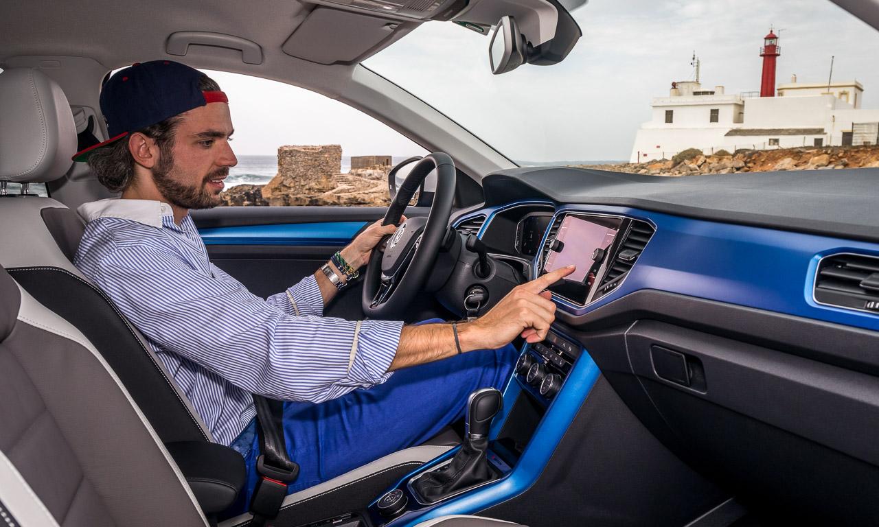 VW Volkswagen T Roc hoher Golf Cross im Test Fahrbericht Review AUTOmativ.de Benjamin Brodbeck VWBilder 11 - Test: Der VW T-Roc 2.0 TDI (190 PS) ist der stilvolle Stadt-SUV für den Landausflug