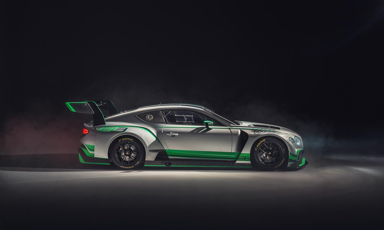 Bentley Continental GT3 Motorsport AUTOmativ.de Benjamin Brodbeck - Der Bentley Continental ist sich nicht zu schön für harten Motorsport