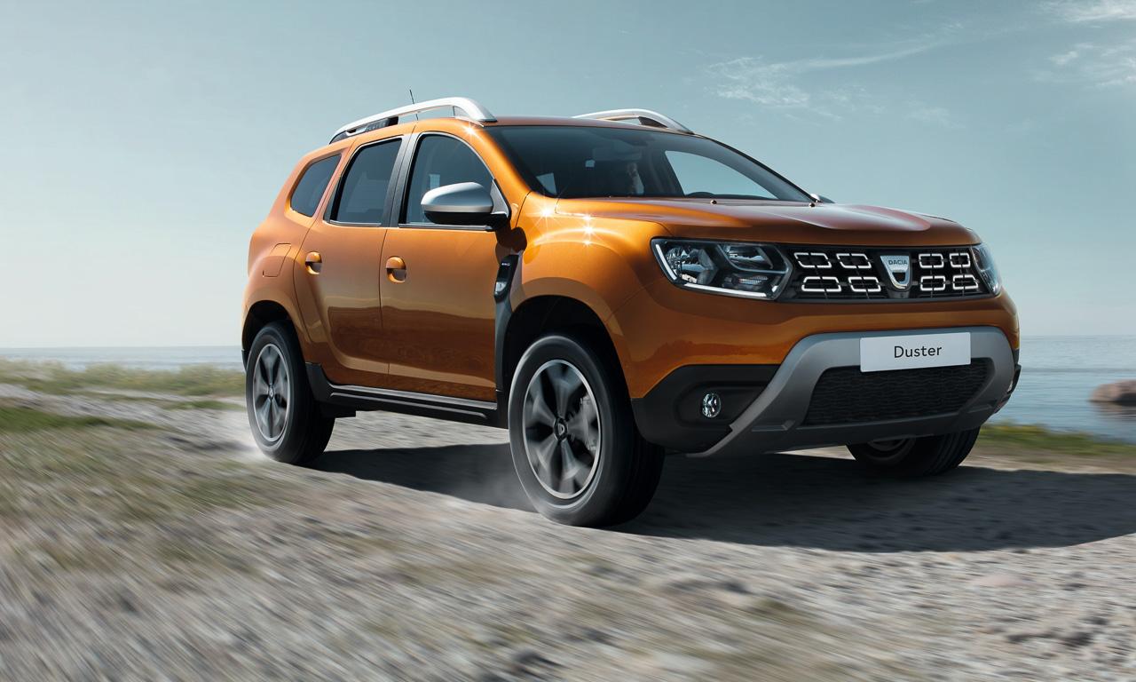 Dacia Duster Preise 3 - Der Dacia Duster bleibt das günstigste SUV in Deutschland - Preise angekündigt