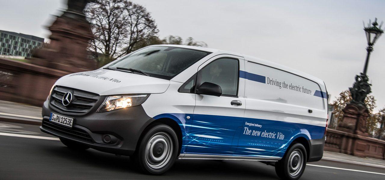 Der DHL Streetscooter ist nicht mehr alleine: Daimler steigt mit dem eVito ein