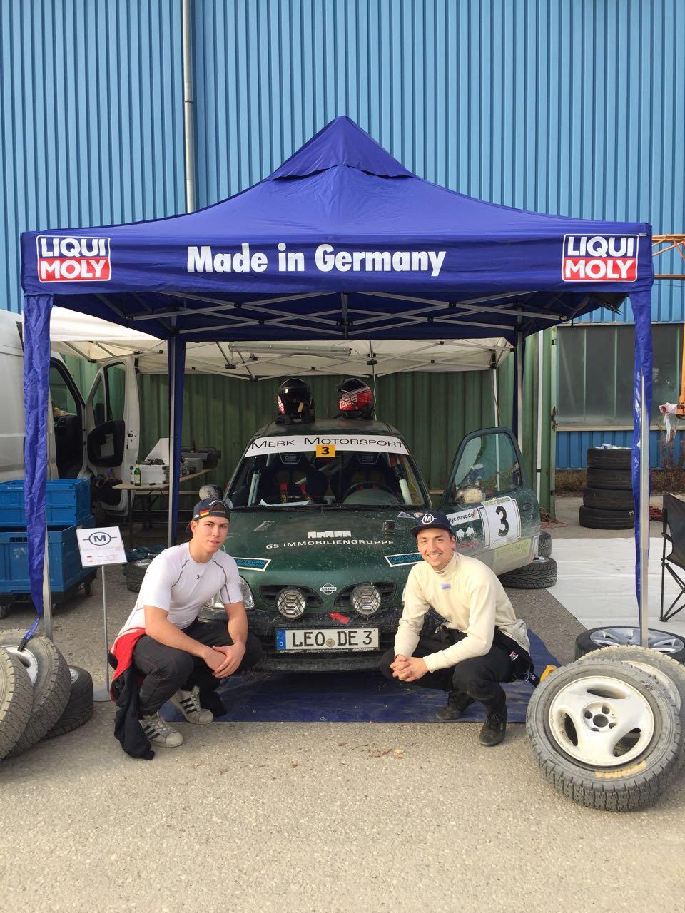 IMG 6677 - Merk Motorsport holt bei der Mossandl-Rallye 2017 wieder Podium