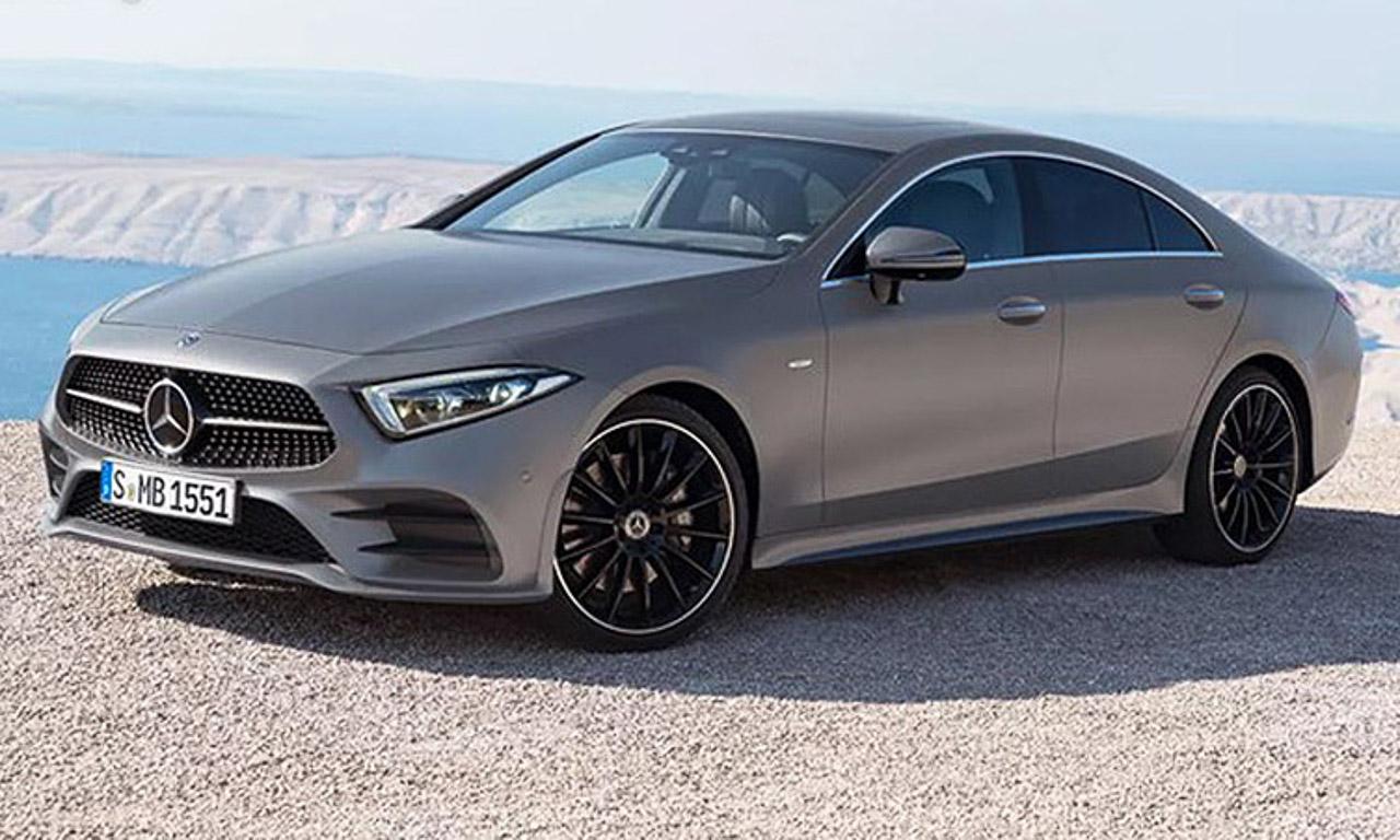 Mercedes Benz CLS 2018 NEU AUTOmativ.de Benjamin Brodbeck - Neuer Mercedes-Benz CLS (2018) mit neuem Reihen-Sechszylinder