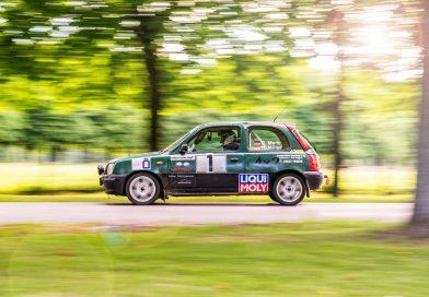 Merk Motorsport holt bei der Mossandl-Rallye 2017 wieder Podium
