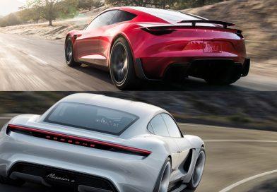 Der neue Tesla Roadster ist jetzt die größte Herausforderung für den Porsche Mission E