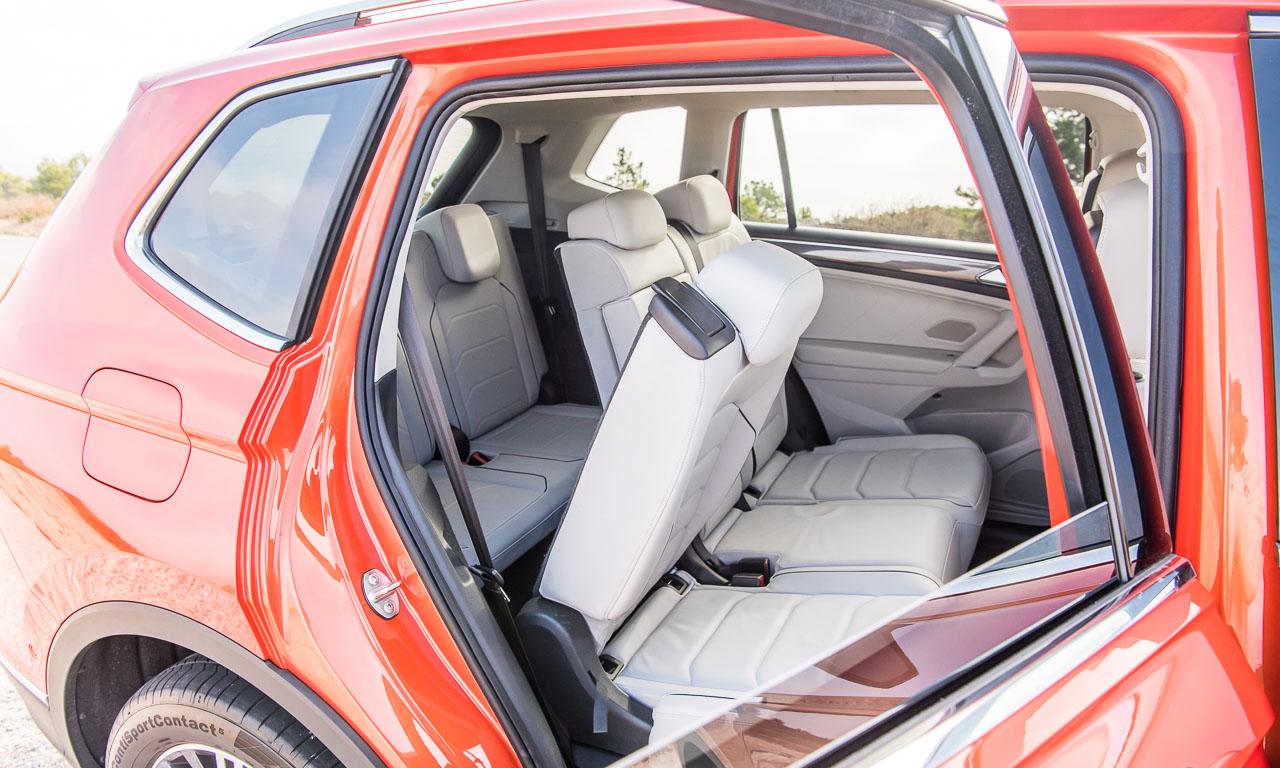 VW Volkswagen Tiguan Allspace im Test Fahrbericht Tiguan XXL 4Motion Allrad Langer Radstand AUTOmativ.de Benjamin Brodbeck 10 - Test: Der VW Tiguan Allspace ist der Touran für spannendere Familienväter