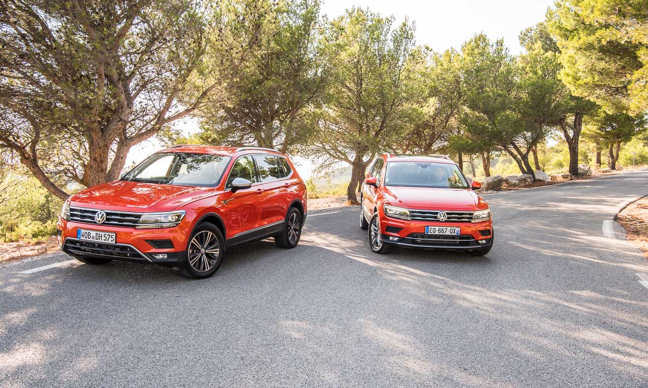 test der vw tiguan allspace ist der touran f r spannendere familienv ter das. Black Bedroom Furniture Sets. Home Design Ideas