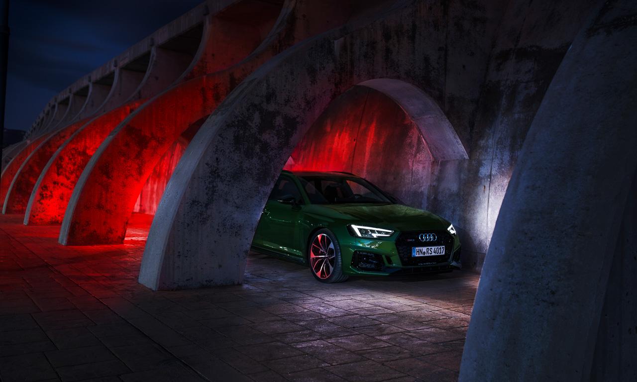 Audi RS4 Avant im Test und Fahrbericht AUTOmativ.de Benjamin Brodbeck Audi Sport Tobias Sagmeister 16 - Test neuer Audi RS4 Avant: Langstreckensportler für Kind und Kegel - und Grünverschnitt