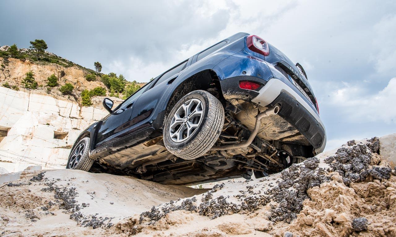 Dacia Duster zweite Generation im Test Fahrbericht AUTOmativ.de Benjamin Brodbeck Griechenland 2 13 - Fahrbericht Dacia Duster TCe 125 und dCi 110 (2018): Status zählt also doch