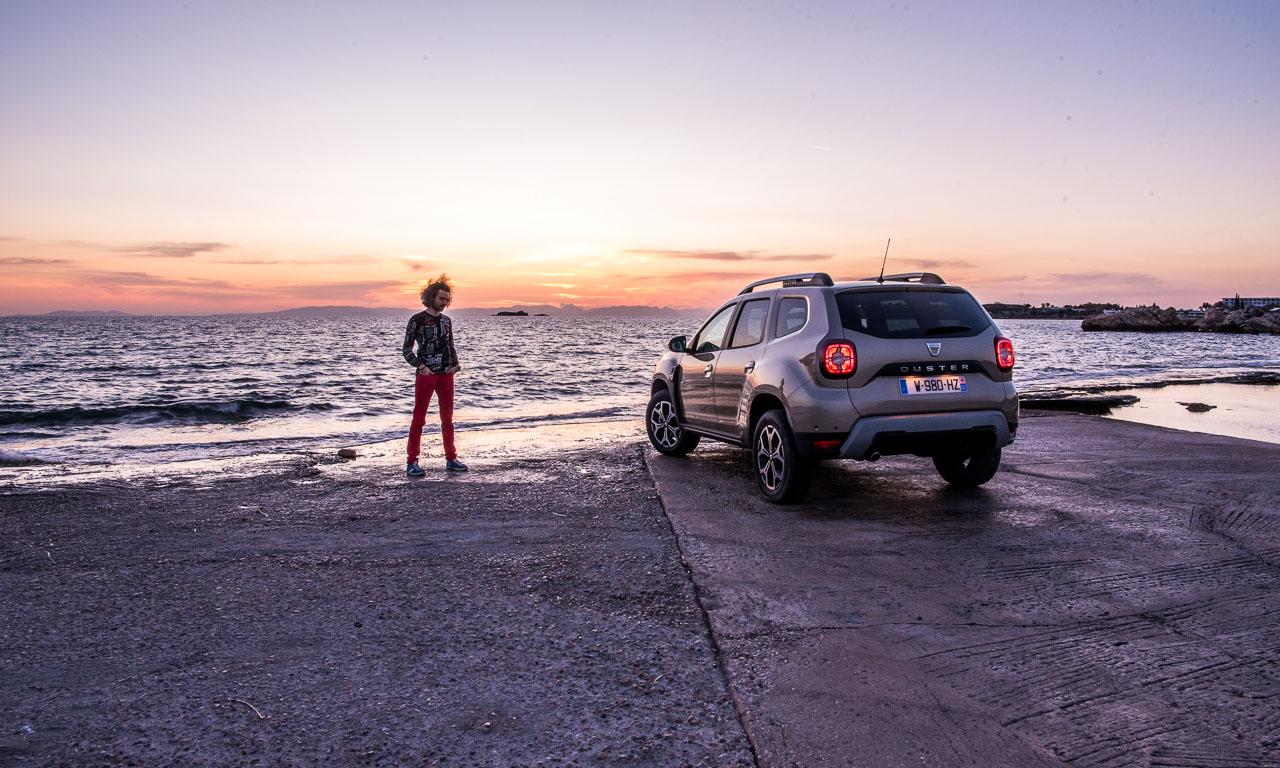 Dacia Duster zweite Generation im Test Fahrbericht AUTOmativ.de Benjamin Brodbeck Griechenland 2 50 - Fahrbericht Dacia Duster TCe 125 und dCi 110 (2018): Status zählt also doch