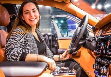 Sitzprobe im neuen Rolls-Royce Phantom – oder doch in einer Luxusyacht?