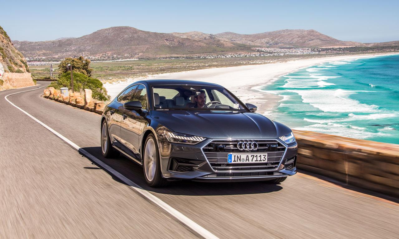 Audi A7 2018 Vorstellung Weltpremiere Sportcoupe Ingolstadt Rupert Stadler Marc Lichte AUTOmativ.de Benjamin Brodbeck 13 - Fahrbericht Audi A7 Sportback 50 TDI: Ist der Schöne auch der Interessante?