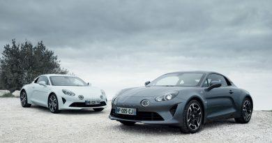 """Alpine A110 (2018) – als """"Pure"""" und """"Légende"""" kommt die Rennflunder in Serie"""